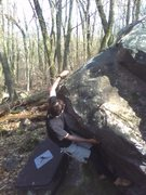 Rock Climbing Photo: This guy Chris.