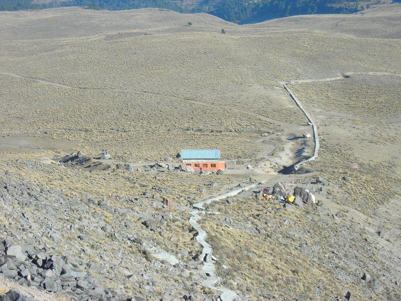 Rock Climbing Photo: Heading up the trail towards the Jalapa Glacier.