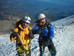 Rock Climbing Photo: Near the foot of the Jalapa Glacier.