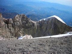 Rock Climbing Photo: The cone of Orizaba.