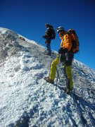 Rock Climbing Photo: Slogging ever upward.