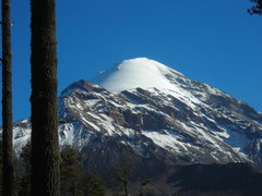 Rock Climbing Photo: A view of Orizaba from the road leading to/away fr...
