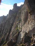 Rock Climbing Photo: Broken Hand Peak