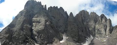 Rock Climbing Photo: The whole massif. Including Crestone Peak and the ...