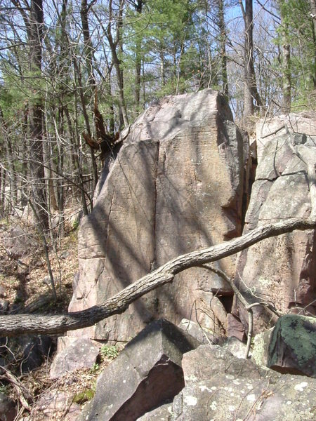 Rock Climbing Photo: Buzz Bomb.