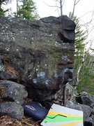 Rock Climbing Photo: So Dope starts on the 2 low ticked crimps, up to s...