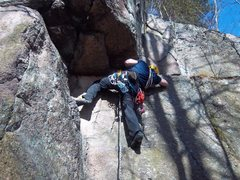 Rock Climbing Photo: N.P.R.(5.5), South Colton, NY