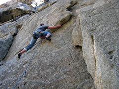 Rock Climbing Photo: Unknown 5.11?