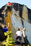 Rock Climbing Photo: Marco Narducci FA's Ground Zero @ South bliss phot...