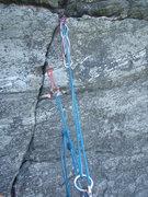 Rock Climbing Photo: piece blown