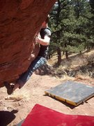 Rock Climbing Photo: bouldering at flagstaff