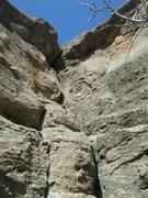 Rock Climbing Photo: Darys' Crack. Right of Problem Child.