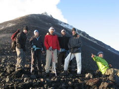 Rock Climbing Photo: Just below the crater. The ground was warm and sta...