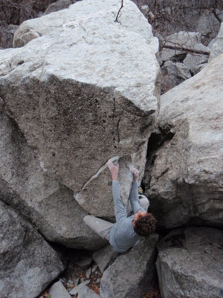 Cynthia's Arete V2-4 The Glen<br> <br> November 11, 2009