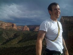 Rock Climbing Photo: Me on top.
