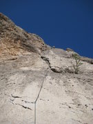 Rock Climbing Photo: What it looks like from the belay up
