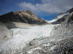 Rock Climbing Photo: Huayna Glacier