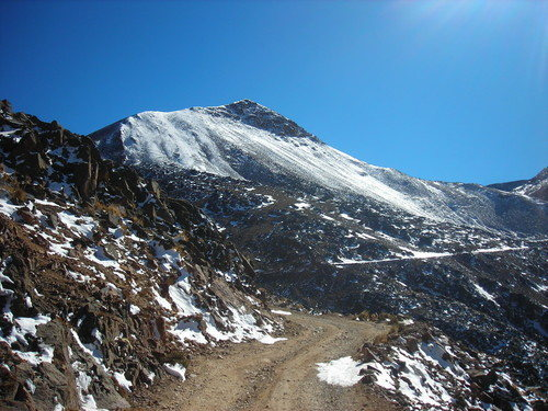Shot of Nevado Chacaltaya(5395m).