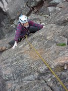 Rock Climbing Photo: North Face Left.