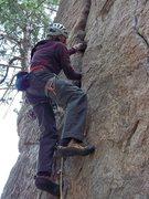 Rock Climbing Photo: Huston Crack.