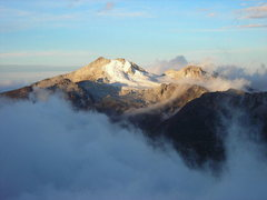 Rock Climbing Photo: Nice shot of Cerro Japu Japoni (5088m)to the north...