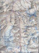 Rock Climbing Photo: Potosi #02: Map name: Cordillera Real o de la Paz ...