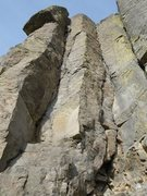Rock Climbing Photo: The inside corner on the left.