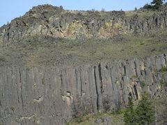 Rock Climbing Photo: Climber on Hallowed Ground.
