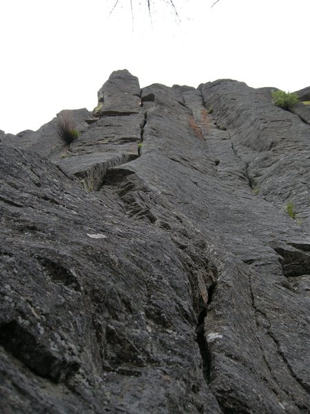 The crack left of Twin cracks.