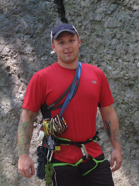 Rock Climbing Photo: Just hanging out at the Crag
