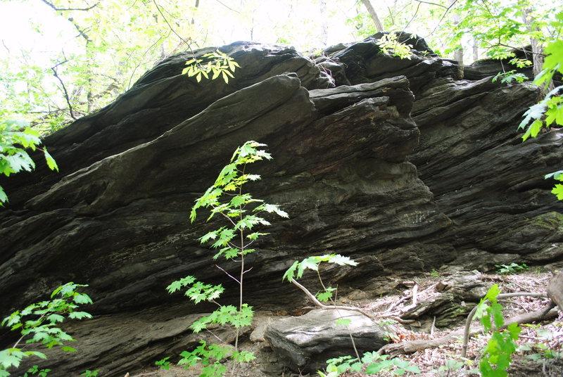 Rock Climbing Photo: Strawberry Rock