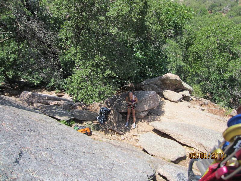 Rock Climbing Photo: start of walter funkite