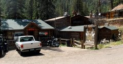 Rock Climbing Photo: Bucksnort Saloon -- just a mile up the road from B...