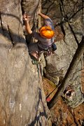 "Rock Climbing Photo: Ryan ""Jungle Dog"" Strong gets the last g..."