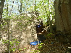 Rock Climbing Photo: bekah williams flashing Hotter Than It Looks V0