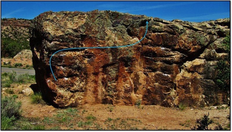 Navajo Taco route.