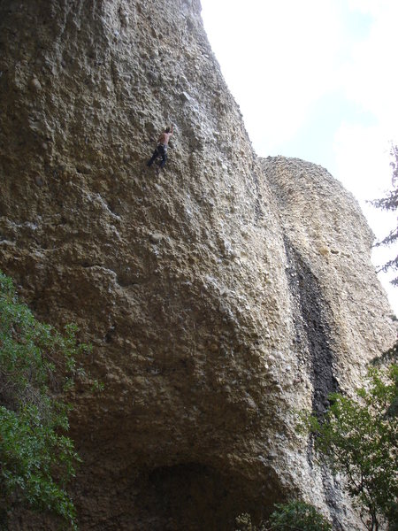 Rock Climbing Photo: pipe dream!