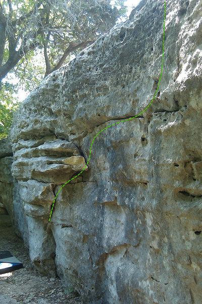 Rock Climbing Photo: The Board Walk