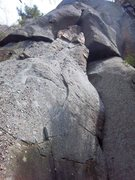 Rock Climbing Photo: Bottom of Catnip(5.7)