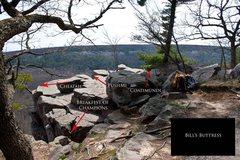 Rock Climbing Photo: Bill's Buttress