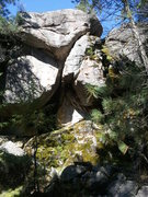 Rock Climbing Photo: The beautiful chimney that is Stone Dead Rattler, ...