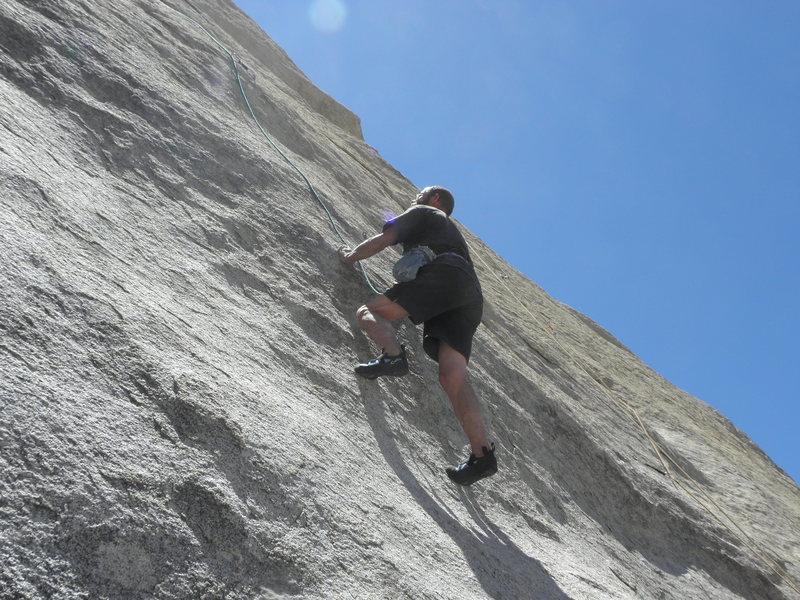 Rock Climbing Photo: Tucker Tech on Private Eye.