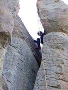 Rock Climbing Photo: Banana Chimney.