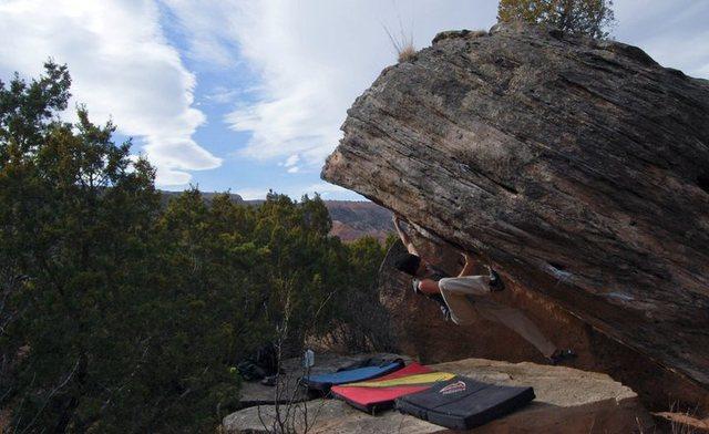 Rock Climbing Photo: The Rebirth
