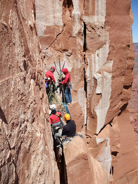 Rock Climbing Photo: Why it's best to have a plan B for K-I.