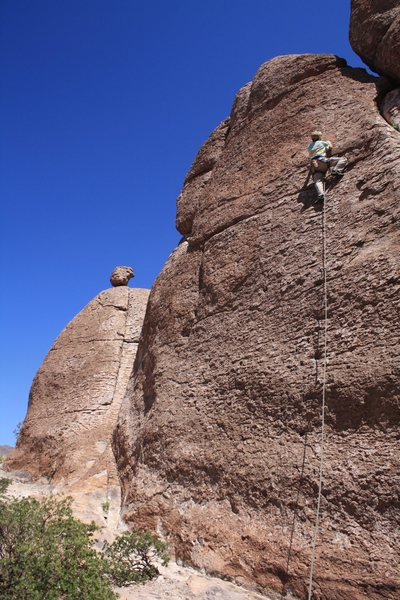 Rock Climbing Photo: Scott on 35 of 40