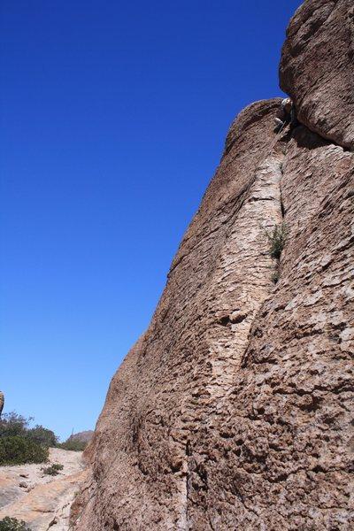 Rock Climbing Photo: Scott on 36 of 40