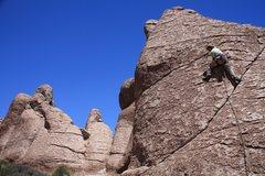 Rock Climbing Photo: Scott on 37 of 40