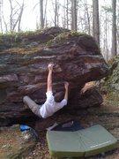 Rock Climbing Photo: Paul sending