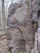 Rock Climbing Photo: Mid-bluff.